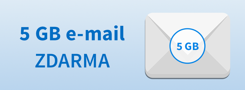 Jarní akce - ke každé CZ doméně e-mail hosting zdarma