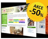 pěkné webové stránky v systému inPage